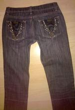 7/8 černé džíny be you vel. 25-26 / xs-s, xs