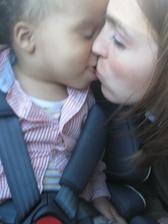 Nejkráásnější májová pusa!!! :-)