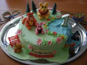 Kačenky narozeninový dort