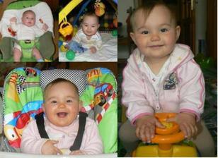 Danielka od Sonika (3,6,9 mesicu a 1 rok)