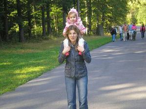 s mamkou na výletě