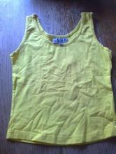 Žluté bavlněné tílko, 164