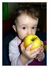 S jablíčkem