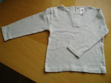 Nenošené bílé triko, c&a,92