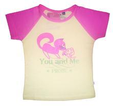 Dívčí triko s krátkým rukávem,český výrobek, 122