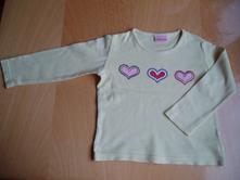 Dívčí triko s dlouhým rukávem, cherokee,86
