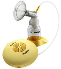 Elektrická odsávačka, půjčila jsem si, abych si zachovala laktaci, případně ji zvýšila a udělala si zásobu mlíčka do mrazáku :-)