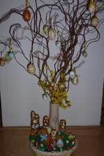 Naše interierová velikonoční výzdoba:-)