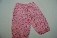 Plátěné kalhoty, velikost 50-56, kik,50