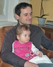 Tatínek se svým malým klonem :-D