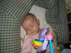 mamka mě zase musela vyfotit,jak spím
