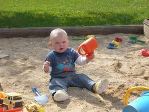 luky si v písku lebedil, Jakule 09