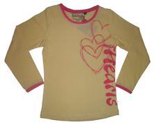 Dívčí triko s dlouhým rukávem coonoor, 122