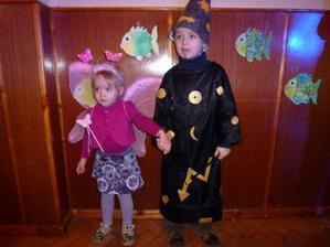 Kouzelník s vílou:-)