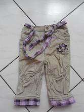 Podšité manšestrové kalhoty, dopodopo,80
