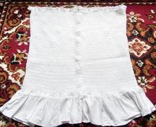 Pružný bílý top, timeout,m