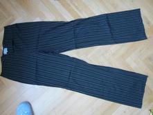 Černé kalhoty s proužkem-etam, l