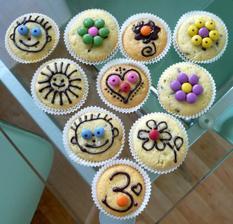 Muffinky na Matýskovu oslavu