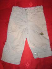 Podšité roll-up plátěné kalhoty, topolino,80