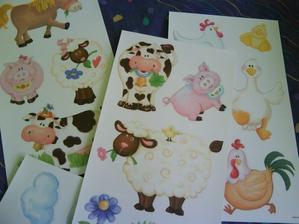 dekorace do koutku s postýlkou, do pokojíčku pak pořídíme jiné zvířátka - farmu.